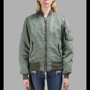 Jackets & Blazers - BEN TAVERNITI UNRAVEL PROJECT ARMY BOMBER JACKET